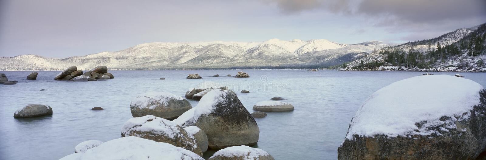 Download Lake Tahoe in Wintertime, stock image. Image of nevada - 26262483