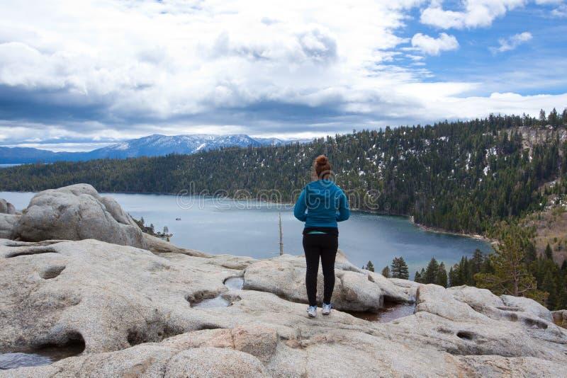 Lake- Tahoeferien stockbild