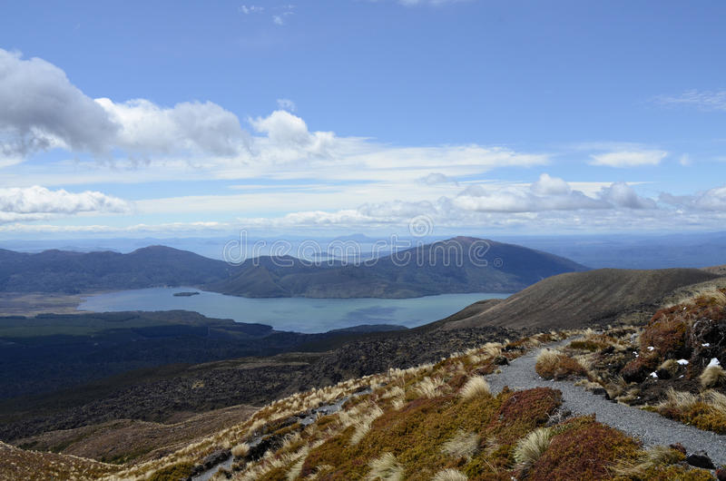 Lake Taupo royalty free stock photos