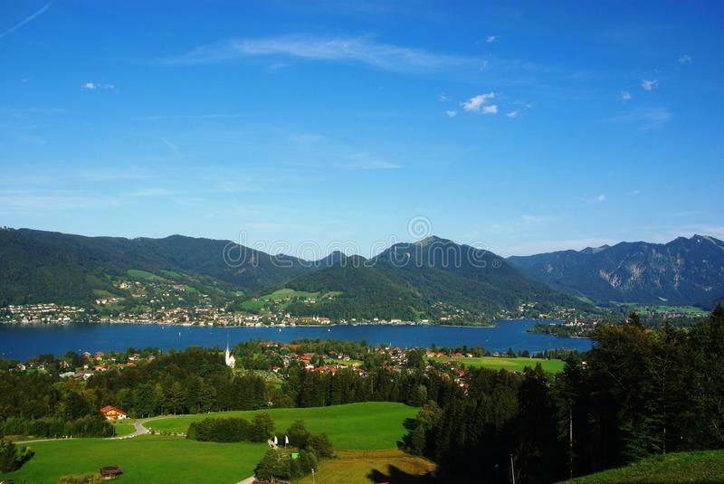 Download Lake Tegernsee Stock Image - Image: 21154441