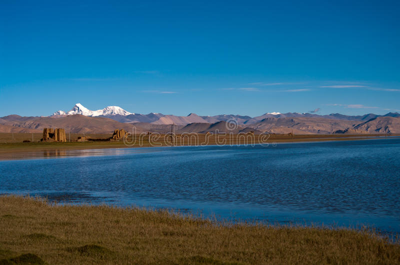 Download Lake in Tibet stock image. Image of famous, holiday, blue - 28349611