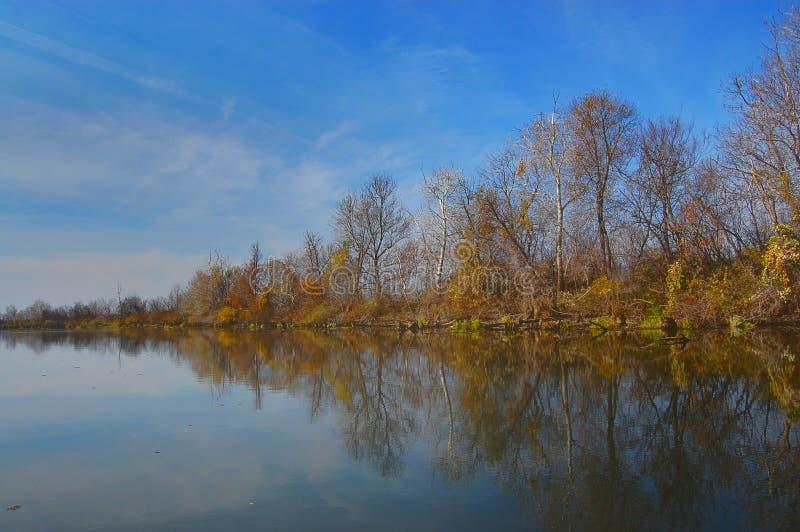 Lake Tisza royalty free stock image