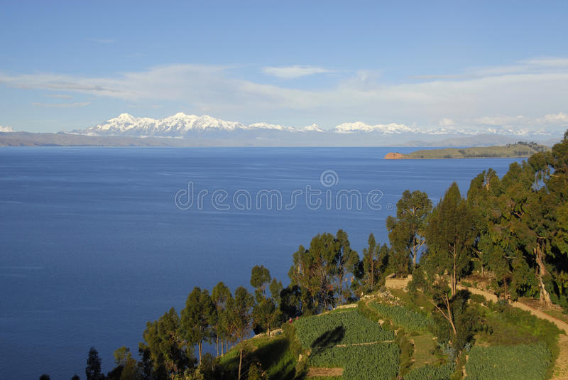 Download Lake Titicaca As Seen From Isla Del Sol Stock Image - Image: 11226705