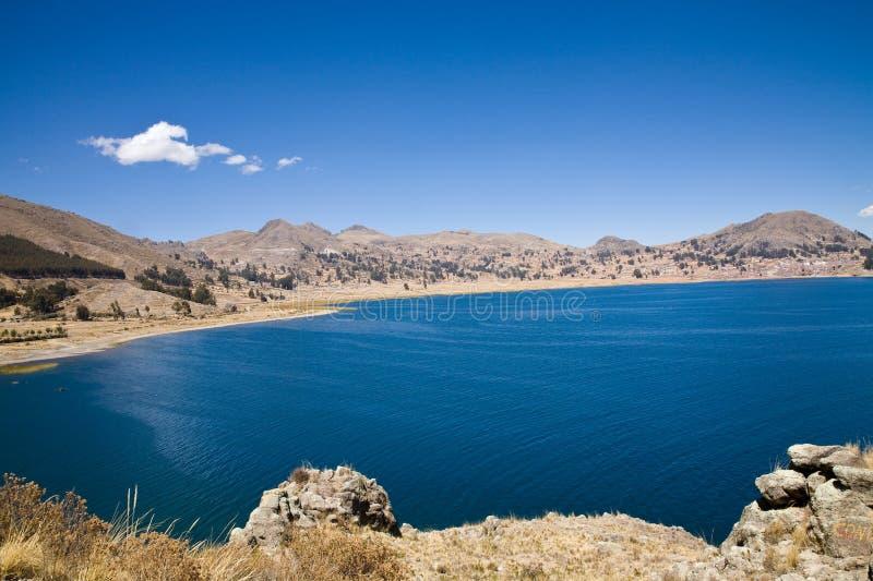 Lake Titicaca, Bolivia stock photo