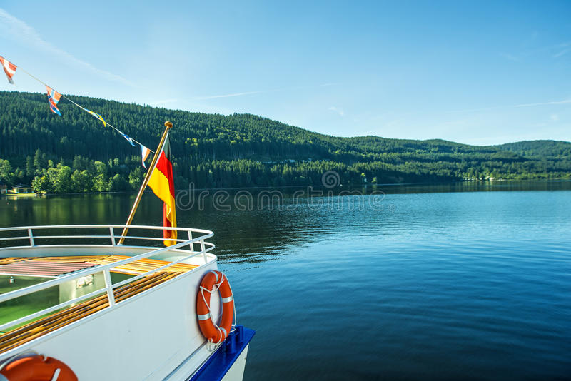 Lake Titisee, Black Forest Germany stock image