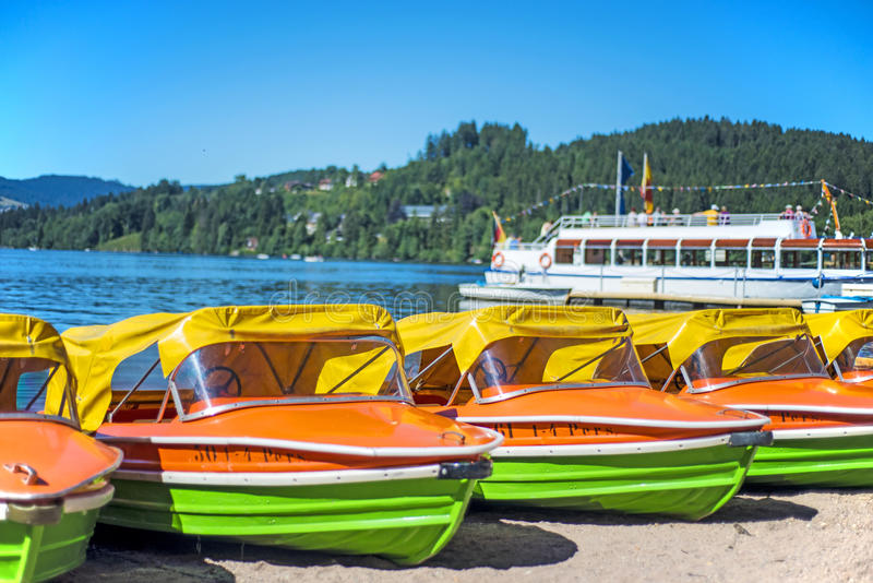 Lake Titisee, Black Forest Germany royalty free stock images