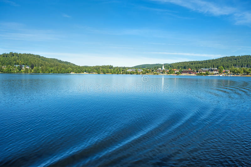 Lake Titisee, Black Forest Germany royalty free stock photo