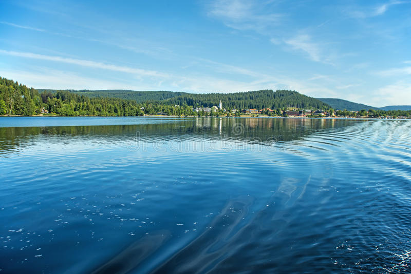 Lake Titisee, Black Forest Germany royalty free stock image