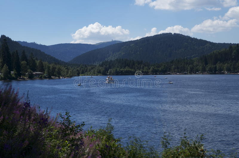 Lake Titisee royalty free stock photo