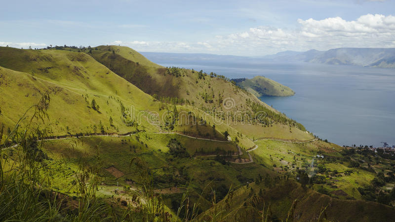 Download Lake Toba Or Danau Toba In Indonesia Stock Photo - Image of north, mountain: 25066806