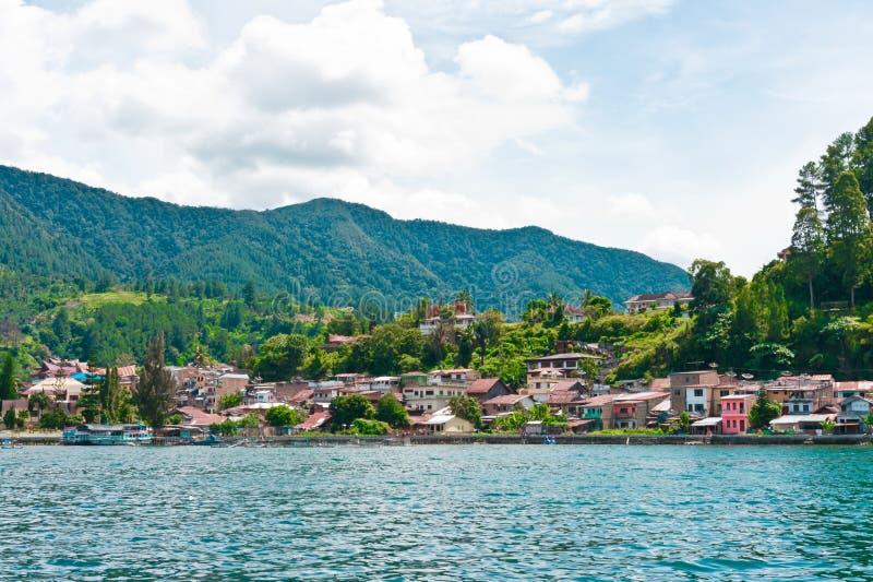 Download Lake Toba In Parapat Area, Sumatra Stock Images - Image: 24654984
