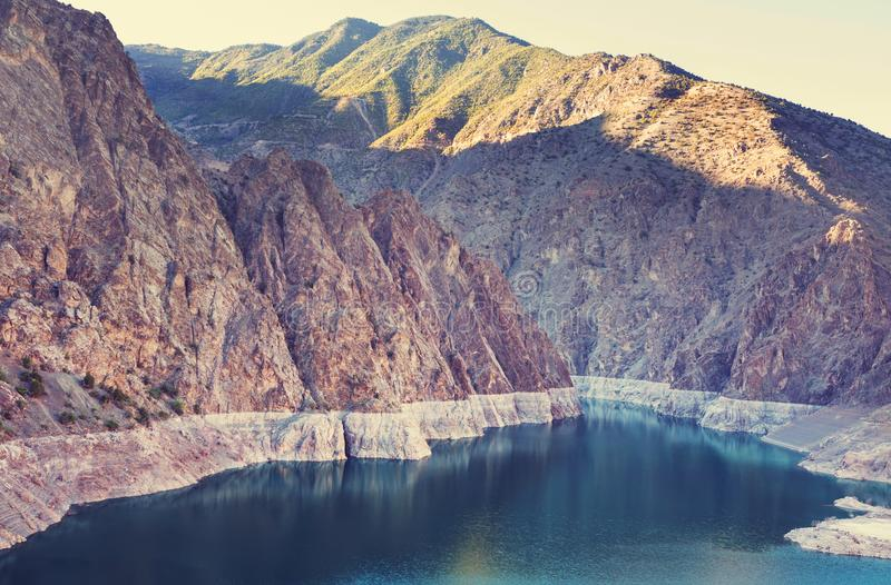 Lake in Turkey. Beautiful mountains landscapes royalty free stock images
