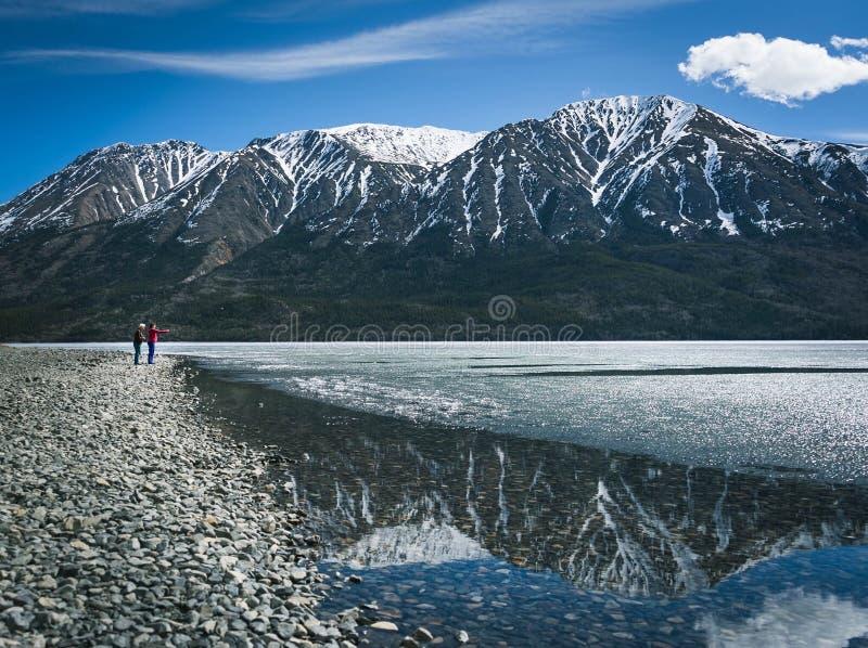 Lake Tutshi stock image