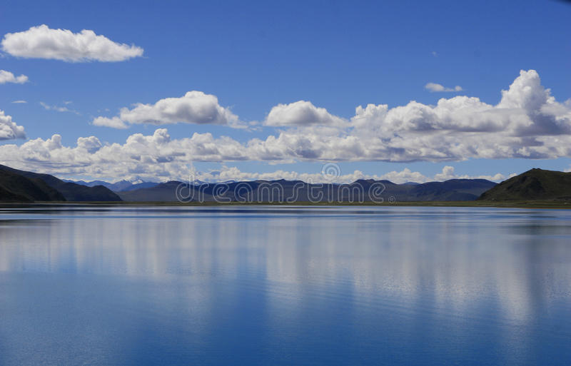 Lake under cloud royalty free stock images