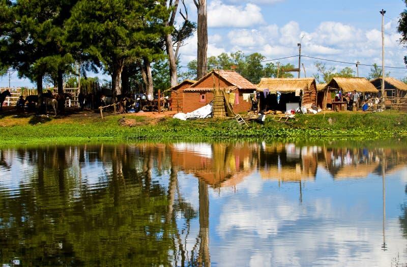 lake uruguay arkivbilder