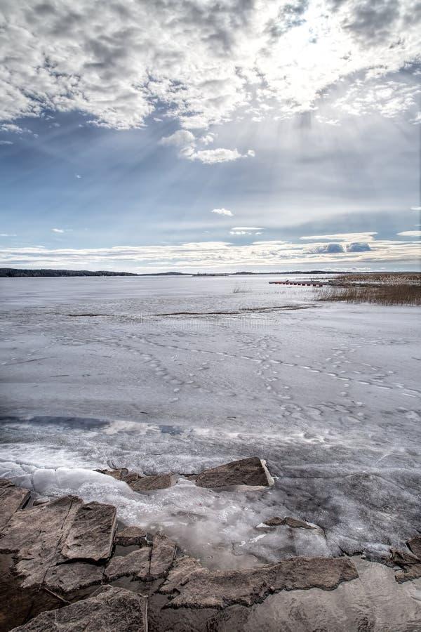 Lake vänern stock photography