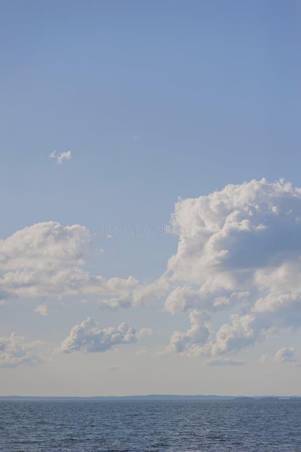 Download Lake Vattern stock image. Image of blue, cloud, natural - 21159325