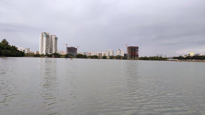 Hebbal Lake - Bangalore. Hebbal Lake -. Lake view - . lake view - . lake view -, bangalore, pic, photography, india royalty free stock photography