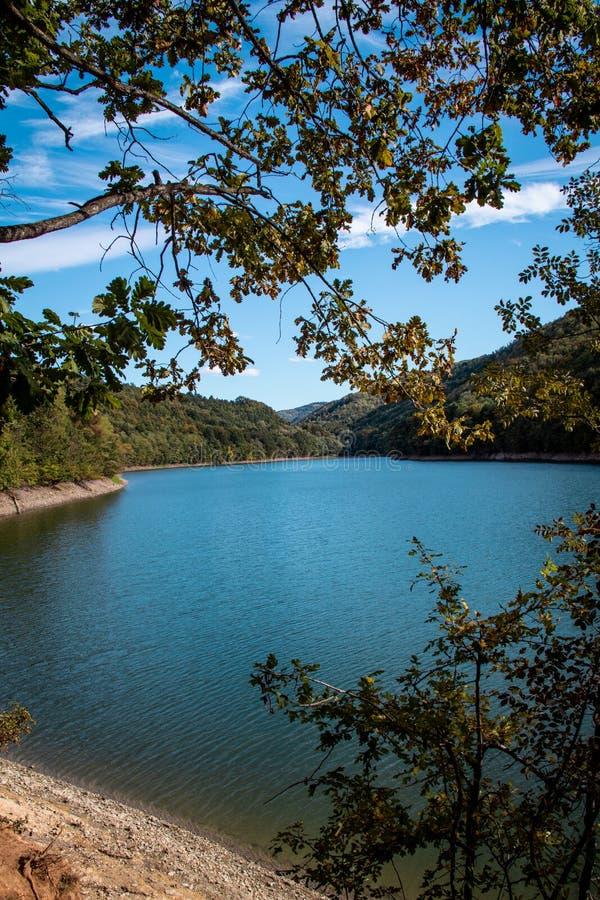 Lake Vodojaza, near city of Kragujevac, Serbia. Photo was taken on lake Vodojaze, near city of Kragujevac, Serbia royalty free stock photography