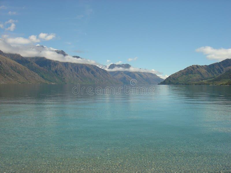 Download Lake Wakatipu, New Zealand stock image. Image of crystal - 1617663