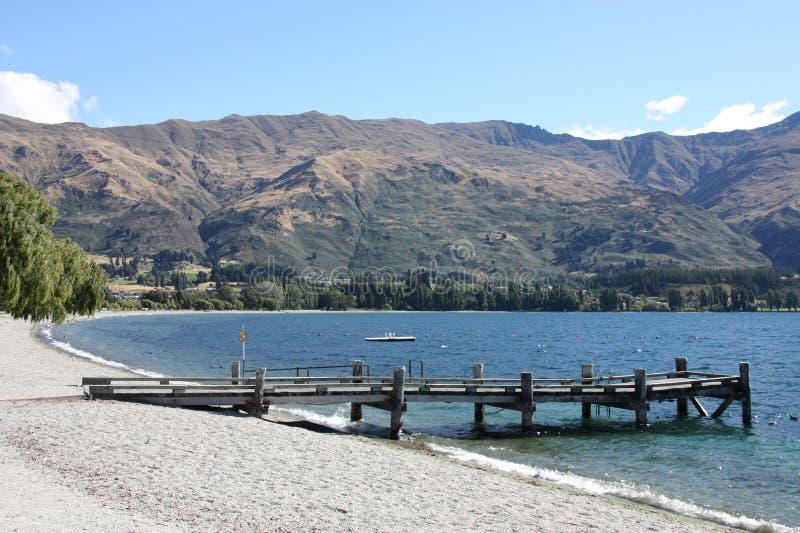 Lake Wanaka royalty free stock photos