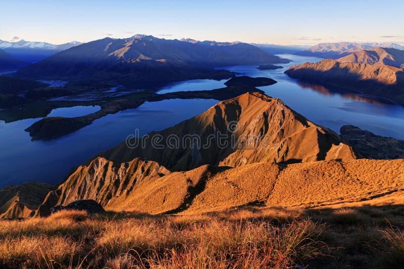 Lake Wanaka, New Zealand royalty free stock image