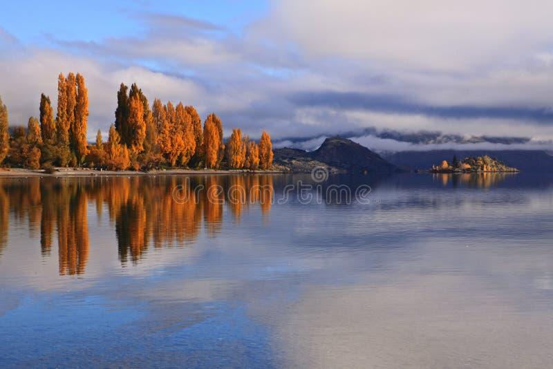 Lake Wanaka,South Island New Zealand. royalty free stock photography