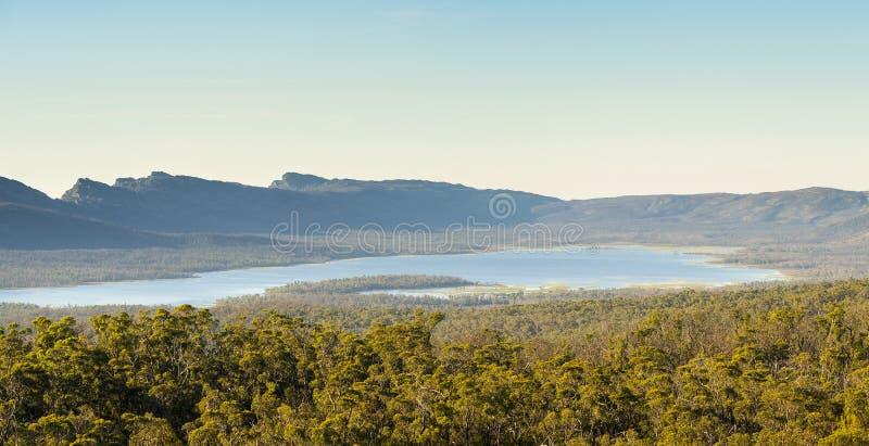 Lake Wartook Grampians. Lake Wartook reservoir in the Grampians National Park, Victoria, Australia royalty free stock photos