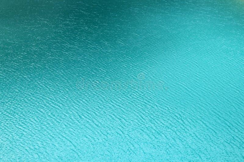 Lake water surface blue Chamonix alps france royalty free stock photo
