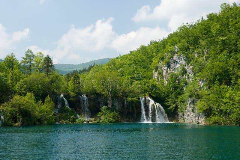 Download Lake and Waterfalls stock photo. Image of water, milanovac - 23499722