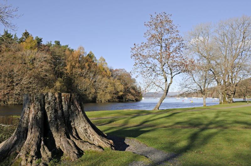 Download Lake Windermere stock image. Image of green, autumn, england - 17013695