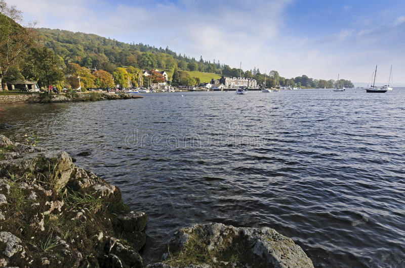 Download Lake Windermere stock image. Image of tree, lake, mountain - 17605019