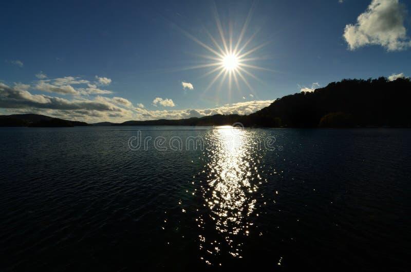 Lake Windermere Sunset stock photo