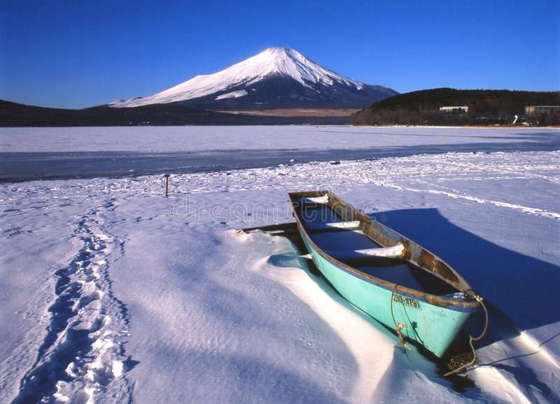 Lake Yamanaka II royalty free stock photo