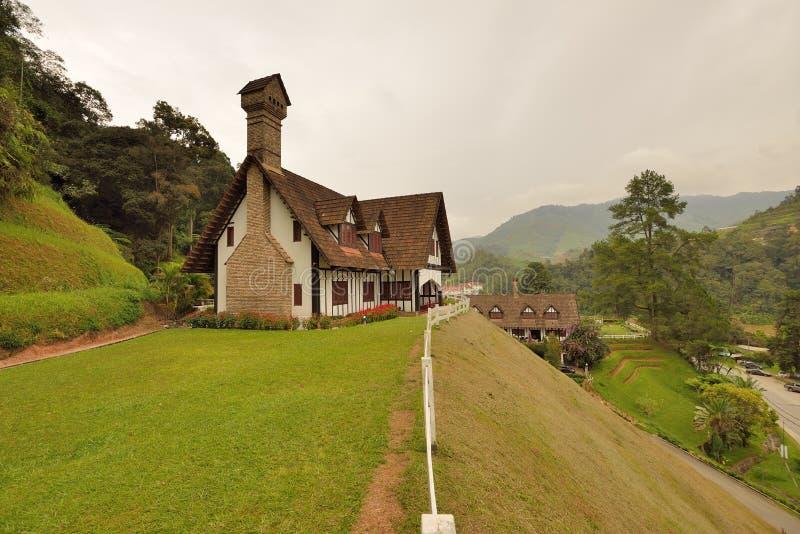 Lakehouse, гористые местности Камерона стоковые изображения rf