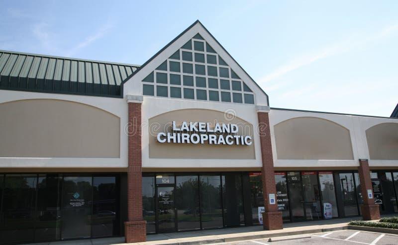 Lakeland-Chiropraktik lizenzfreie stockfotos