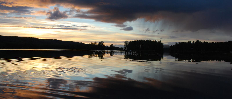Lakeland Finlandia fotografía de archivo libre de regalías
