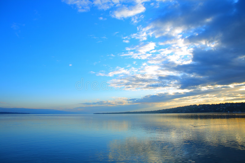 lakelandskap royaltyfria foton