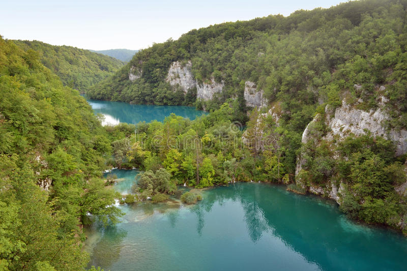 Download Lakes stock image. Image of water, travel, cliff, trees - 27324047