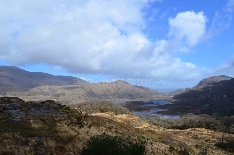 Lakes of Killarney in Ireland Along the Ring of Kerry royalty free stock photo