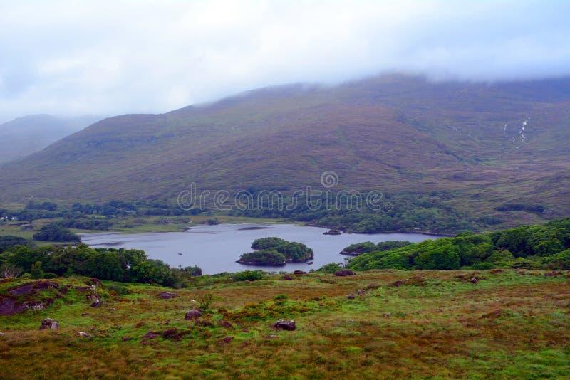 Lakes in the Killarney National Park, Ireland stock image
