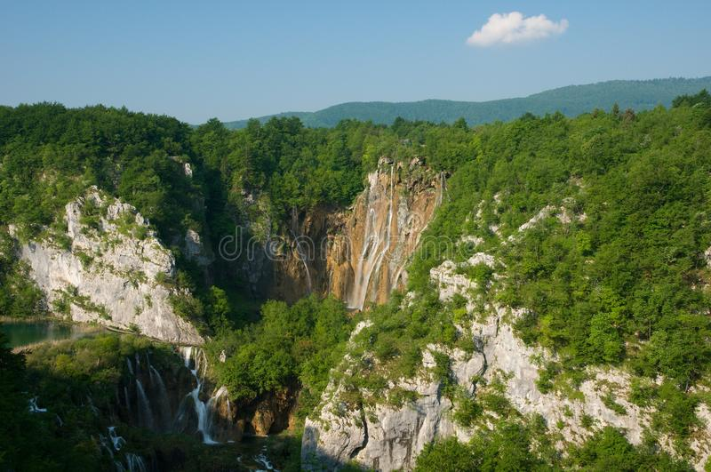Download Lakes And Waterfalls Stock Image - Image: 23500091