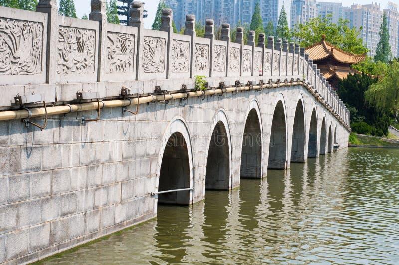 Lakeshore parque imagem de stock royalty free