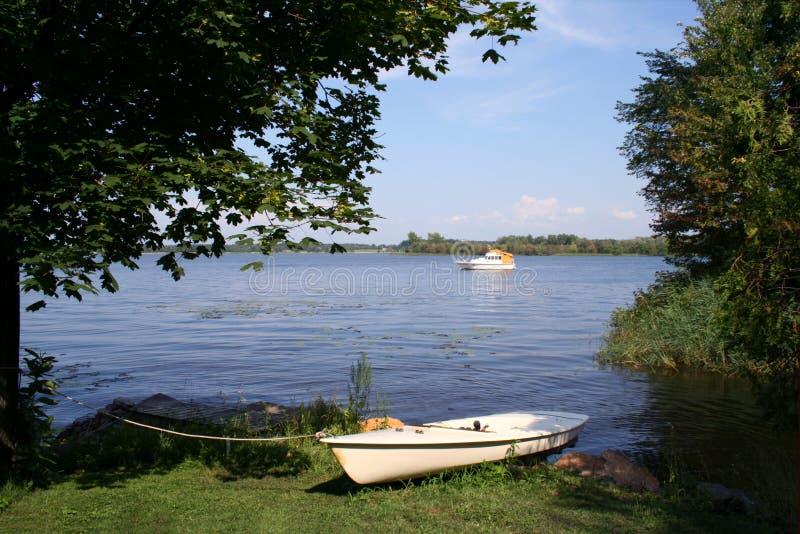 Lakeside stock image