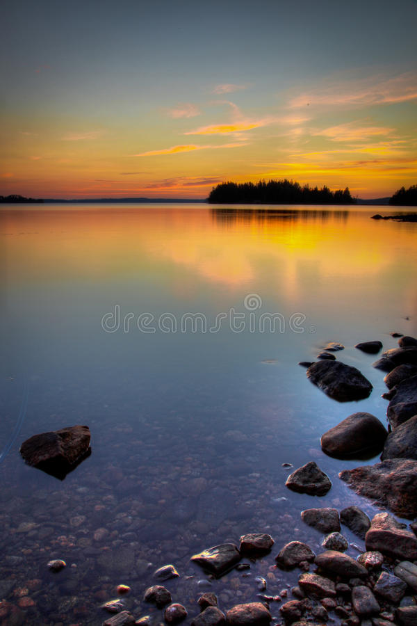 Lakeside royalty free stock images