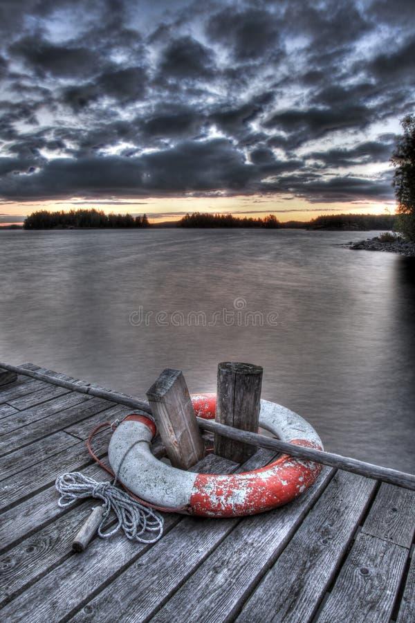 lakeside royaltyfri bild