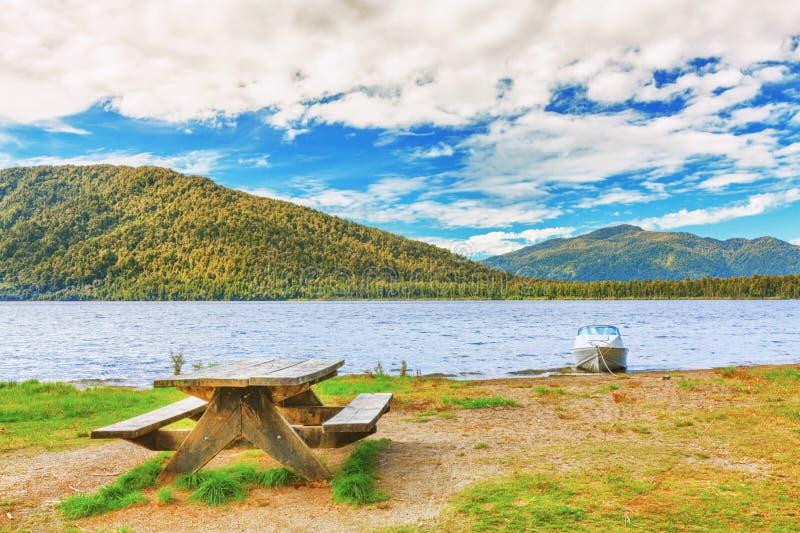 Lakeside royalty free stock photos