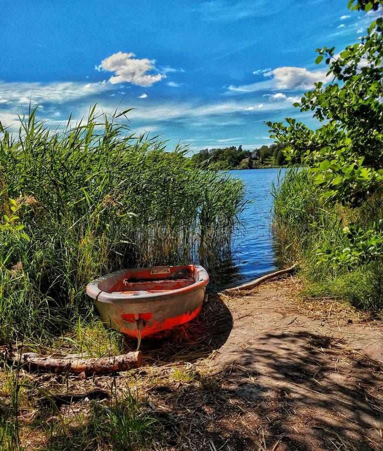 lakeside photographie stock