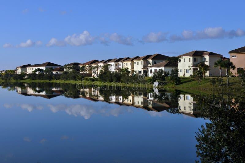 Lakeside Living stock photography