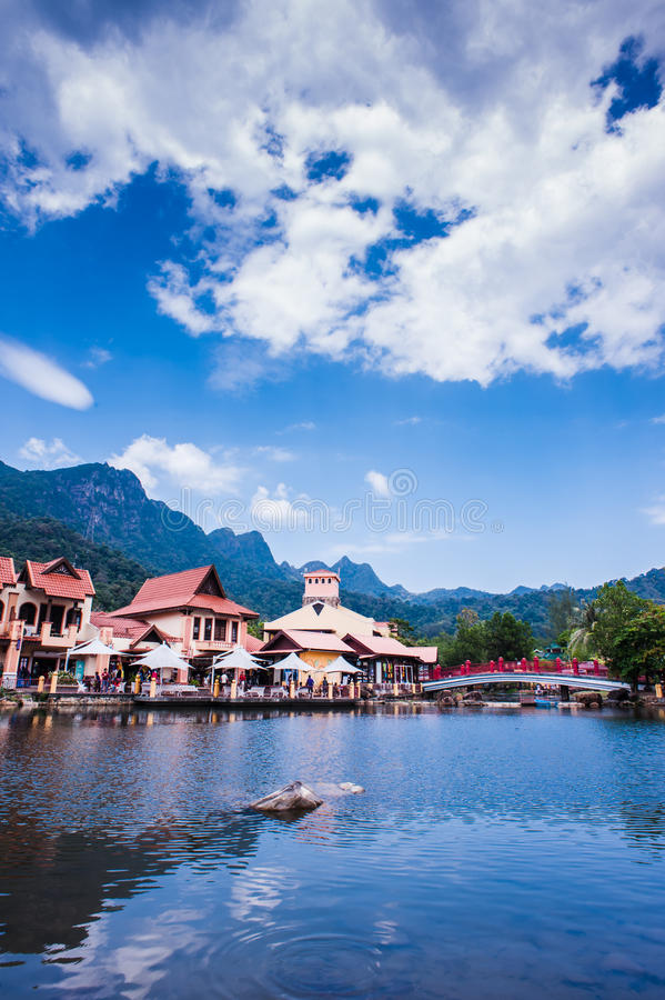 Download Lakeside by the mountain stock photo. Image of landscape - 29245792